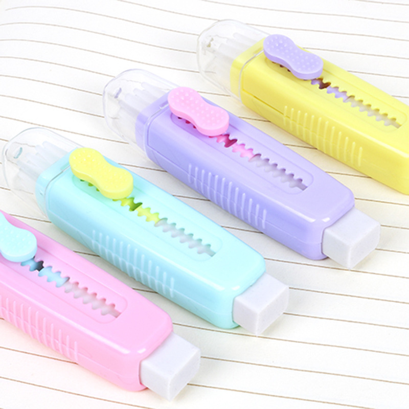 1 шт., ластик с мягкой щеткой для коррекции карандаша, канцелярские принадлежности для школьников, студентов
