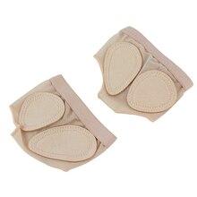 ABKT-1 пара; защита для ног; танцевальные лапы; закрытый носок; обувь для балета; гимнастика; Танцевальная обувь для латинских танцев; Комплект для ног