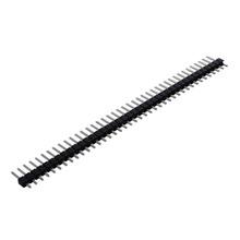 Jeden rząd prosto listwa stykowa wymiana 40 listwa stykowa 2 54mm proste jeden rząd trzpień żeński złącze wcon tanie tanio CN (pochodzenie) 40 Pin Header Strip Approx 101x11mm(LxW) Female Pin Header Connector Pitch Straight Header
