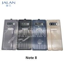 Note 8 N950 N950F Back Glass With Camera Lens Cover Case Broken Housing Battery Back Door SM N950F N950U Replacement Repair