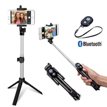 Flexible Monopod Tripod for iPhone IOS Samsung Xiaomi Huawei Android OS Phone Tripod Stand
