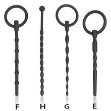 8pcs/Set Silicone Urethral Dilators Penis Insert Plug Sex Toys For Men Adult Erotic Man Masturbator Urethral Sounding Rod