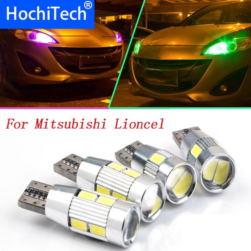 1pc Safe T10 Car Styling DC12V LED Front Parking Light Lamp Bulb Source For Mitsubishi Lioncel Lancer EX Outlander Pajero