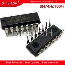 10 قطعة/الوحدة SN74HCT00N 74HCT00 DIP جديد الأصلي
