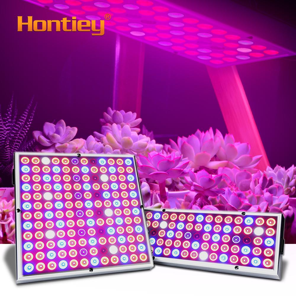 Hontiey Growth Light Plant Growing Light 25W 45W Full Spectrum Fill Light Greenhouse Cultivation Plants Flowers Fruits Egetables