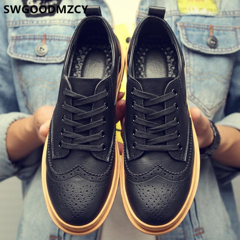 Brogues Mens Casual Shoes Hot Sale