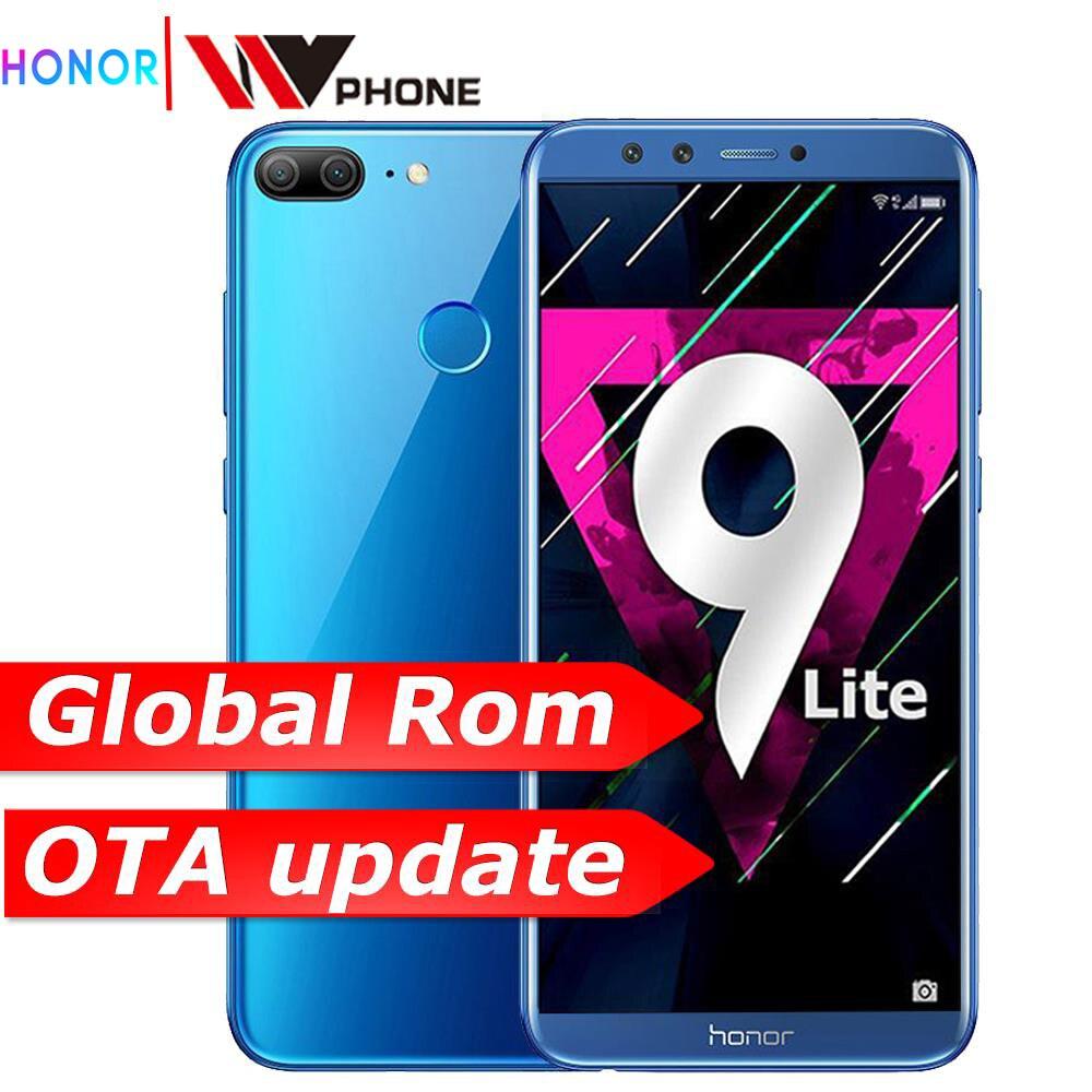 """Honour 9 Lite honour 9 lite 5.65 """"Octa Core 2160*1080P téléphone portable double police arrière caméra 3000mAh empreinte digitale faceid"""