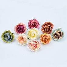 200 Pieces Artificial flowers Multicolor roses Wedding holiday supplies
