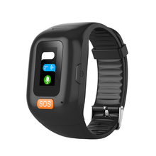 Heart-Rate-Monitoring Sos-Button Emergency-Alarm Tracking Elderly Child GSM GPS Real-Time