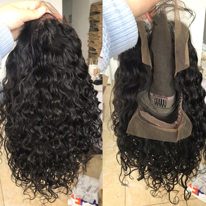 Image 4 - 150% remy preto curto encaracolado 13x4 frente do laço perucas de cabelo humano com o cabelo do bebê brasileiro mel loira bob peruca corte para a mulher preta