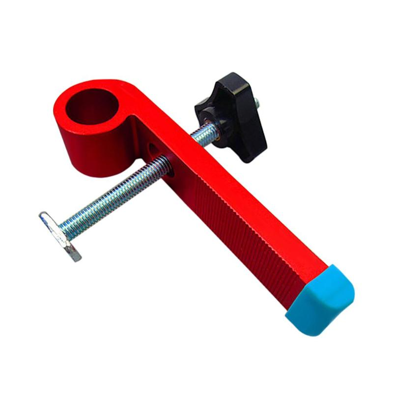 T Type Slide Slot Track Stopper Woodworking Positioning Limiter Wood Clamp Pipe Clamps Tool|Hand Tool Sets| |  - title=