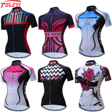 Cycling Jersey Women Bike Top Shirt Short Sleeve MTB mountain Ropa Maillot Ciclismo road Racing Bicycle Clothes female wear red 2020 cycling jersey women bike jersey road mtb bicycle shirt team ropa ciclismo maillot racing tops female clothes uniform green