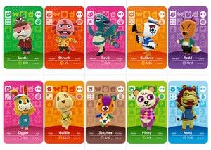 Image 4 - NS игровая серия 3 (281 до 320) карточка для скрещивания животных Amiibo карточка для работы на английском языке