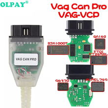 Professiona VAG CAN PRO CAN BUS+UDS+K-line S.W Version V5.5.1 VAG OBD VCP Scanner obd 2 car diagnostic scanner tool