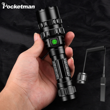 The most powerful L2 LED flashlight 5 lighting mode tactical waterproof torch use 18650 battery USB Rechargeable for hunting