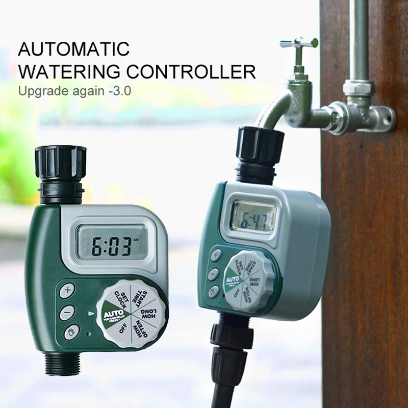 Irrigation-Controller Garden Solenoid-Valve Automatic Outdoor title=