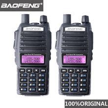 2 шт 100% baofeng uv 82 Двухканальные рации 10 км dual band