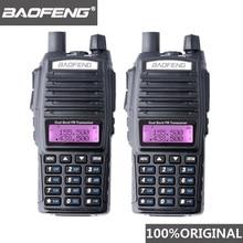 2PCS BaoFeng UV 82 Walkie Talkie 10 KM Dual Band 136 174/400 520 MHz FM Ham Two WayวิทยุUV82 CB HamวิทยุHf Transceiver UV 82