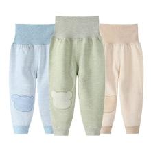 Baby Boy Long Pants High Waisted 3Pcs/Lot Fall Winter Cotton Soft Casual Toddler Girl Leggings Newborn Pant Set Cute Clothes