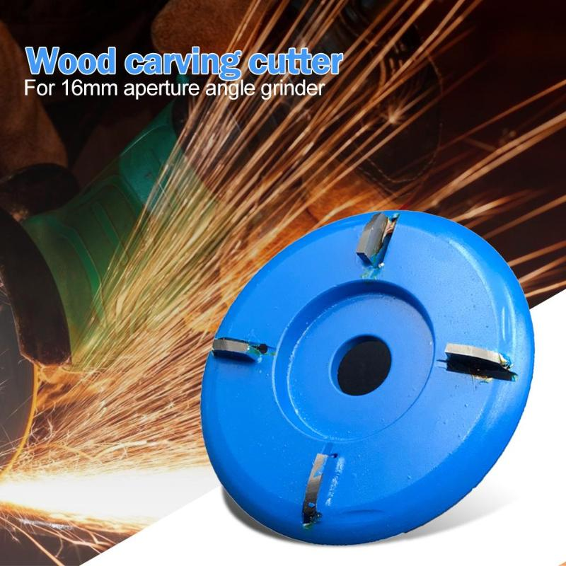90mm Wood Carving Disc Angle Grinder Woodworking Round Saw Blade Milling Cutter High Cutting Efficiency And Durability