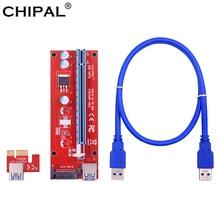 Riser-Card Extension-Cable Mining-Miner Eth-Gpu Sata-Power Pci Express PCI-E CHIPAL
