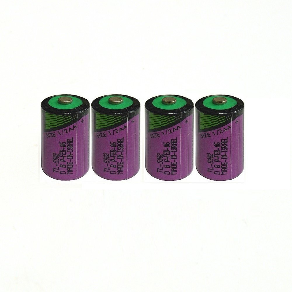 4pcs/lot Hot new high quality TL-5902 <font><b>1</b></font> / 2AA ER14250 SL350 <font><b>3.6V</b></font> <font><b>1</b></font>/<font><b>2</b></font> <font><b>AA</b></font> PLC <font><b>lithium</b></font> <font><b>battery</b></font> image