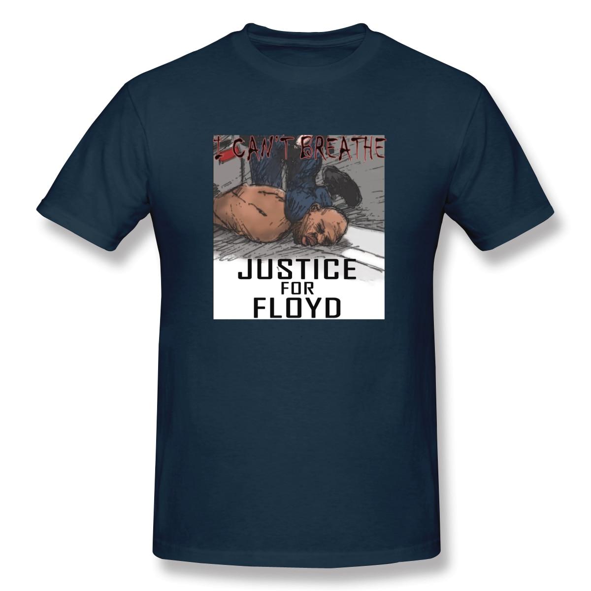RIP George Floyd Shirt Black Lives Matter Justice Y(1) Men's Basic Short Sleeve T-Shirt European Size