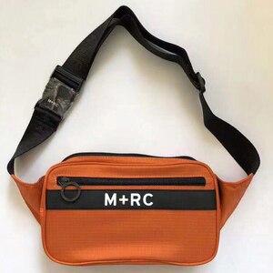 M + RC уличный ремень сумка Спортивные сумочки модные хип хоп мужские и женские M + RC цветные карманы M + RC четыре цвета прямоугольная сумка-мессенджер