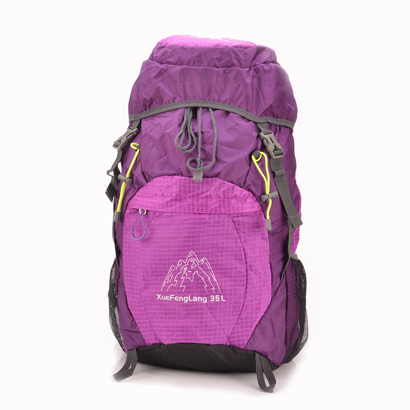 2017 New Style Cool Fashion Waterproof Foldable Outdoor Bag Sports Large Capacity Travel Mountaineering Bag