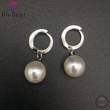 Huisept модные серьги 925 серебряные ювелирные украшения для