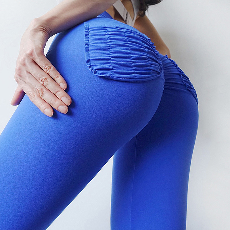 CHRLEISURE Sexy Leggings With Pockets Push Up High Waist Fitness Leggings Solid Quick-drying Breathable Casual Pants Women