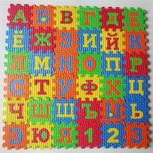 36 шт 55*55 см Эко дружественных eva головоломки символов цифровой