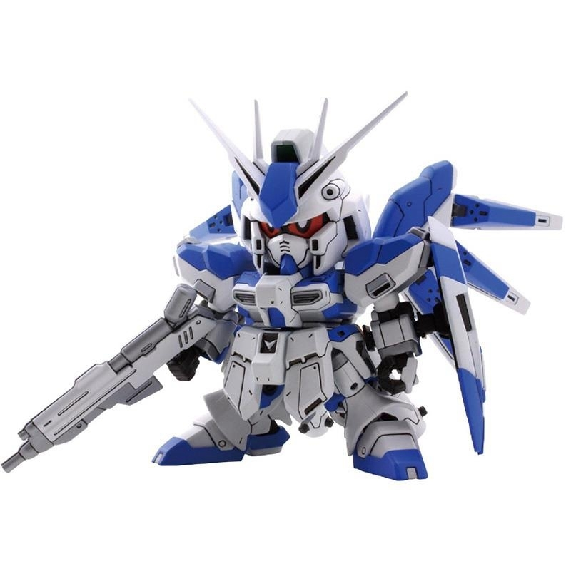 Bandai model 83643 SD Q version <font><b>BB</b></font> 384 RX-93-2 Hi-ν <font><b>GUNDAM</b></font> Manatee <font><b>Gundam</b></font> PVC Action Figure Model Kid Dolls Toys Figurals image