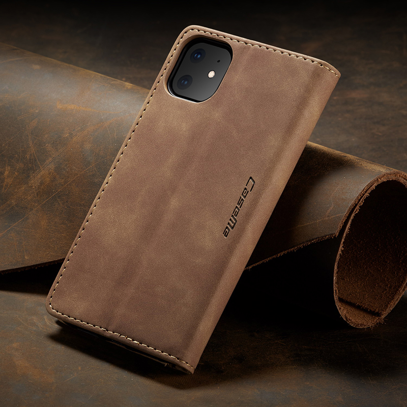 Vintage Leather Case For iPhone 11 Pro Max 2019 Luxury Cover Wallet Stand Magnetic Flip Phone Case For iPhone XR X XS Max Coque in Flip Cases from Cellphones Telecommunications