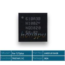 Cargador USB para iphone 7/7 plus/7 plus, 10 unidades/lote, 610A3B/U4001 U2 IC 36 Pines, TRISTAR 2 IC Chip