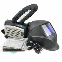 Powered Air Purifying Respirator Welding Mask Personal Protective Equipment Industry PAPR Kit Auto Darkening Welding Helmet