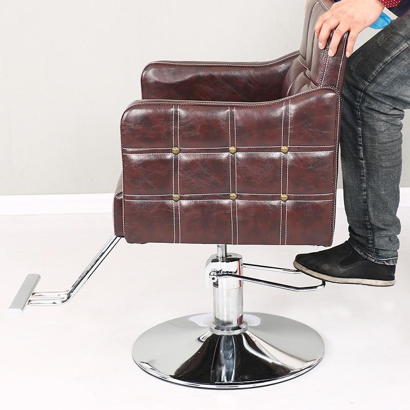 Barber Chair Barber Shop Chair Hair Salon Chair Hair Salon Dedicated To Falling Rotating Seat Beauty Chair