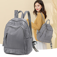Oxford cloth women's backpack 2019 NEW Fashion personality women's backpack Large capacity Canvas Backpack for leisure travel