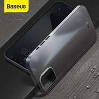 Baseus-funda de teléfono a prueba de golpes para móvil, funda trasera Ultra delgada para iPhone 11 Pro 12 Mini Pro Max 8 XR