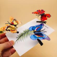 """JINJIAN отправка случайное моделирование бабочки Детские ювелирные изделия на волосы заколка """"Бабочка"""" горячие продажи подарки в цветочном сезоне"""