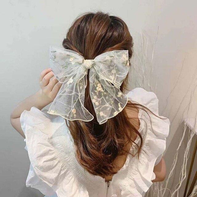 cn кружевная эластичная резинка для волос женщин и девочек ручная фотография