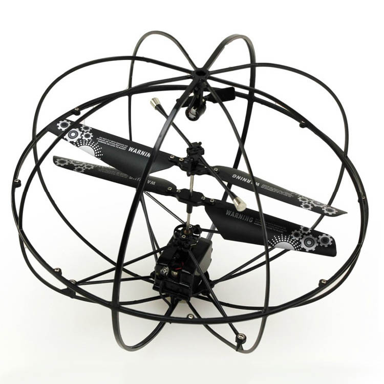 3-Way Remote-control Flying Ball Large Size Remote Control UFO Remote Control Aircraft Helicopter Model Toy 777-286