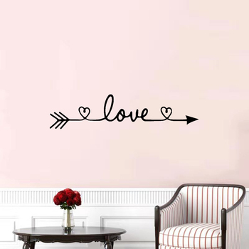 Free Shiping Love Wall Sticker Home Decoration For Bedroom Living Room Decor Wall Stickers Mural Vinyl Decorative Wallpaper 3d door unicorn animal wall sticker styling vinyl mural forest landscape wallpaper home living room bedroom decoration