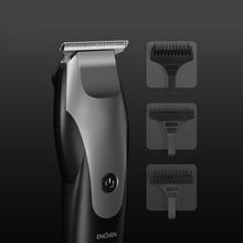 Promotion  ENCHEN electric Hair Clipper 10W High Power Gradient Shape USB Charging Hair Trimmer with 3 hair brushes black