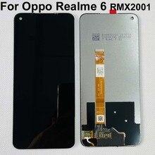 Ensemble écran tactile LCD, noir, 6.5 pouces, pour Oppo Realme 6 RMX2001 / Oppo A52 2020 CPH2069 / Realme 6S, Original