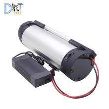 Battery-Pack Down-Tube 36v 10ah 48v 14ah Charger Ebike Bottle-Type 500W 18650 Li-Ion