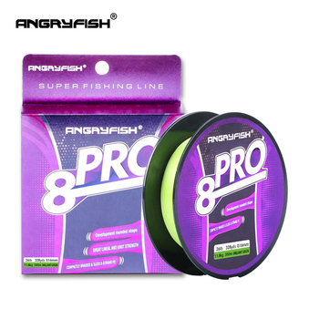 Angryfish New Pro 8x 300M Braided Fishing Line high strength Incredible Superline Abrasion Resistant and Improved Braided Line new line cosmetics