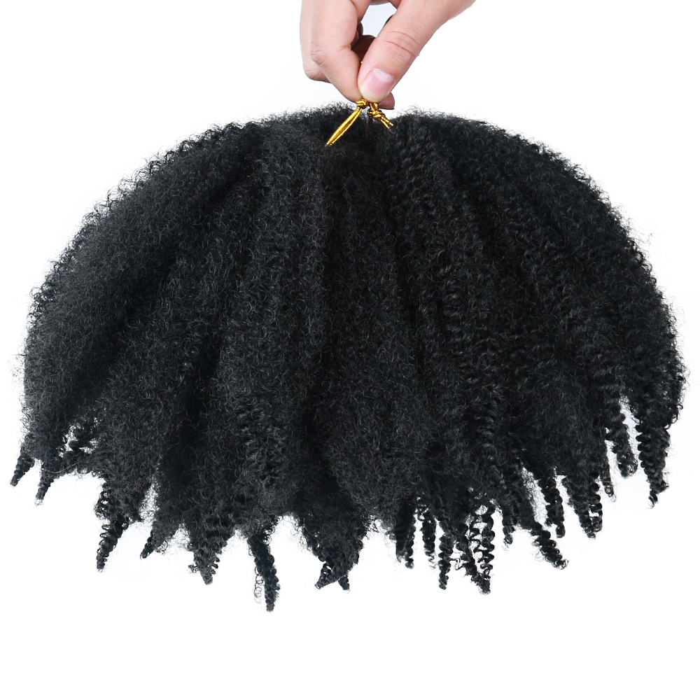 MODERN QUEEN Soft Afro Kinky Natural Soft Marley Braiding Extension For Braids 8