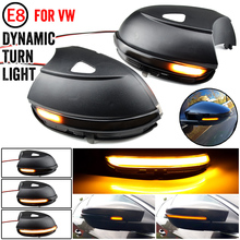 ANZULWANG LED Side Wing Dynamic Turn Signal Light for VW Passat CC B7 Beetle Scirocco Jetta MK6 Euro Rearview Mirror Indicator