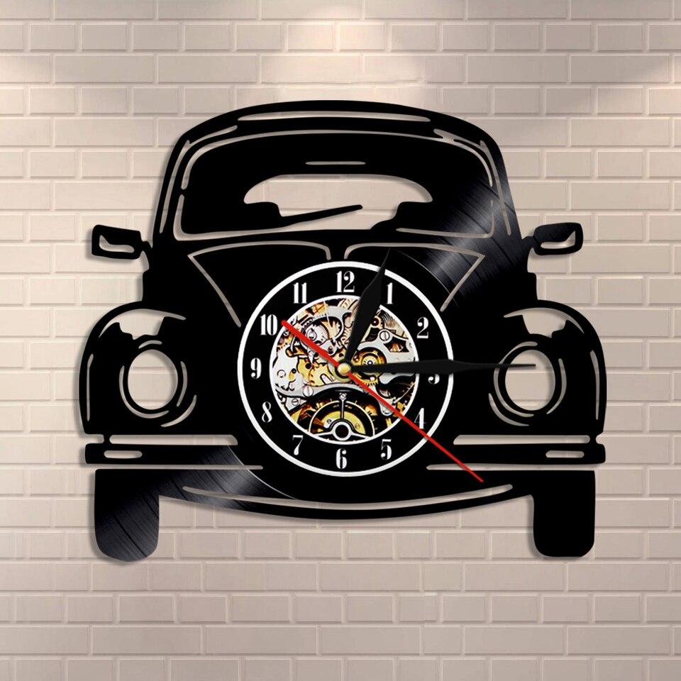 Retro Car Wall Clock Clic Automobile